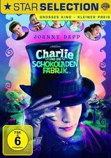 Charlie und die Schokoladenfabrik DVD NEU OVP Johnny Depp