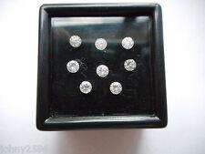 Diamanti taglio rotondo 2.8mm £ 37.50 ciascuno.