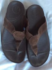 FlipFlop Chocolate brown Thong Sandals.  Size 6.  Style #026 030