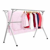 Stainless Steel Laundry Drying Rack Heavy Duty Collapsible Folding Clothes NEW