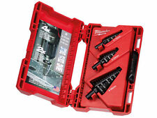 Milwaukee 48899399 3 Piece Step Drill Bit Set Up to 4x More life and 2x Faster!