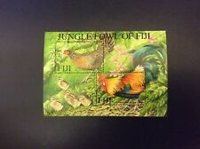 Fiji 2001 Jungle Fowl Miniature Sheet