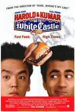 HAROLD AND KUMAR GO TO WHITE CASTLE MOVIE POSTER Original SS 27x40 One Sheet