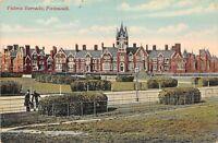 POSTCARD   HAMPSHIRE  PORTSMOUTH  Victoria  Barracks