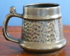 A Prinknash Abbey Pottery pewter effect tankard Mug