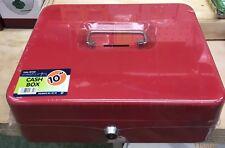 10 Inch Metal Cash Box