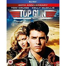 Top Gun - 30th Anniversary Blu-ray 1986 Region Very Good DVD Kelly