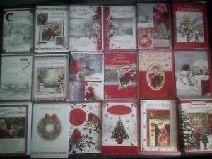 XMAS CARD*CHRISTMAS*SANTA*TREE*LOVELY QUALITY DESIGNS*GREETING*CHOOSE DESIGN