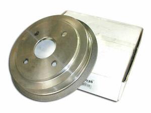 Rear Centric Brake Drum fits Dodge Aries 1985-1989 42QXJQ