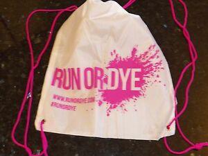 LOT of 100 Pink Drawstring Backpack Beach School Camp Bag Cinch Swim Dance Tote