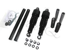 Black Front Rear Lowering Slammer Kit 04-17 Harley Sportster XL