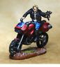 Trail Bike And Rider 28mm Unpainted Metal Wargames