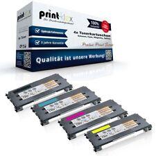 4x Ersatz Tonerkartuschen für Lexmark X-502 X-502-N Toner Proline Print