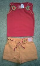 Clothing, Shoes & Accessories Skirts Nwt Gymboree Girls 18-24 Months Orange Skirt Ladybug Ties Flowers Fiesta Del Sol