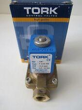 "NEW TORK T-GM 102 Electric Control Valve 3/8"" - 12VDC-10W 0.5-16 BAR"