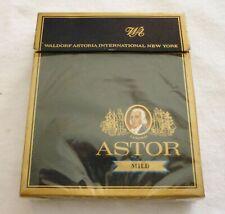 More details for waldorf astoria vintage cigarettes packet 20 astor mild empty with foil / wrap