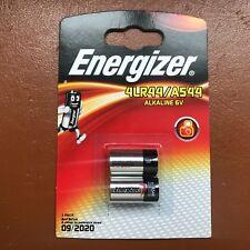2 x Energizer 4LR44 BATTERIA ALCALINA 6 V 476 A PX28A A544 con scadenza più lungo