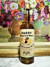 WHISKY OLD PADDY IRISH WHISKY 75cl 43° anni 60 PADDY BLENDED IRISH WHISKY DISTIL
