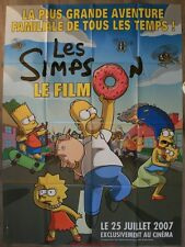 LES SIMPSONS Affiche Cinéma / Movie Poster Matt Goening