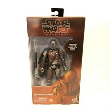 """NEW Star Wars The Mandalorian Carbonized Collection 6"""" Figure Black Series"""