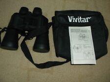 Vivitar Binoculars in Case - 7x50 297ft at 1000yds -Coated Optics - Instruction