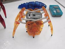 HEX BUG? SPIDER BATTERY OPERATED MINI ROBOTIC SPIDER, 1 windup, remote