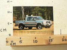 AF148-PHOTO FACTORY ? MAZDA ? TOYOTA ? 4WD  CAR AUTO  PICKUP PICK-UP