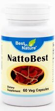 NattoBest -- Supports heart health and promotes healthy circulation 60 capsules