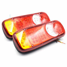 Universal 24V LED Truck Trailer Stop Tail Reverse Light Indicator Fog Light Lamp