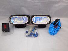 "4"" CAR JDM UNIVERSAL 12V H3 55W FOG LIGHTS DRIVING LAMPS HARNESS KIT CAR TRUCK"