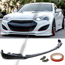 For 13-16 Hyundai Genesis 2Dr Kdm Ks Style Front Bumper Lip Spoiler Splitter (Fits: Hyundai)