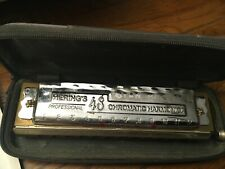 Vintage Hering Chromatic Harmonica Special 48 From Stan Harper Estate