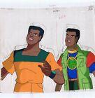 Captain Planet Kwame Cel & Original Art Animation Production Pencils  SC/350 D19