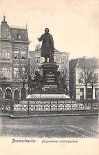 BR37645 Bremeraven bugermeister Smidt Denkmal germany