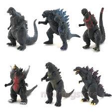 6PCS Godzilla Monsters Shin Godzilla PVC Action Figure Statue Model Toys Gift