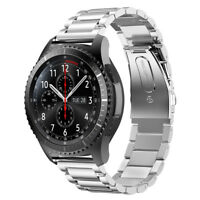 Sliver Stainless Steel Strap Watch Band For Samsung Galaxy Gear S3 Frontier US