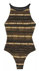 Victoria Secret Sport Bodysuit Size XS Black