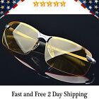 HD Night Vision Polarized Glasses Driving Aviator Sunglasses New UV400 Eyewear
