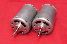 2 pk Mabuchi RS-545SH Motor 12VDC 8700 RPM No Load Vibrator Vacuum Massager 3045