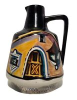 Hand Crafted Blue Pottery Hand Painted Earthen Pitcher