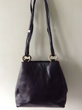 BALLY real leather ladies chunky black underarm shoulder bag