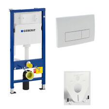 GEBERIT WC-Element Duofix Basic für Wand-WC 112cm 458103001 Betätigung DELTA51