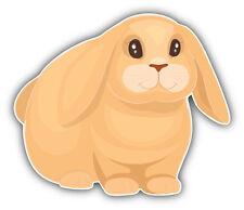Mini Lop Rabbit Car Bumper Sticker Decal 5'' x 4''