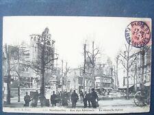 75 , montmartre la rue des abbesses en 1905