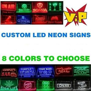 Personalize  LED Neon Signs Light Custom Neon Sign Customize as your design