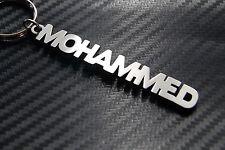Mohammed nom personnalisé Porte-clé Porte-clé sur-mesure ACIER INOXYDABLE CADEAU
