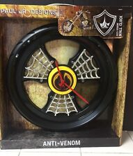 2013 Paul Jr Designs Motorcycle Wheel Wall Clock ANTI-VENON