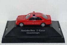 Mercedes-Benz E-Klasse W210 Einsatzleitwagen Feuerwehr 1:87 PC und OVP