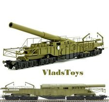 Oxford Rail 1/76 OO Gauge British Railway Gun Gladiator Howitzer WWII OR76BOOM02