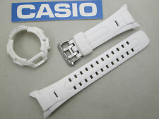 Genuine Casio G-Shock GW-M850 GW-M850-7 GWM850 GWM850-7 watch band & bezel white